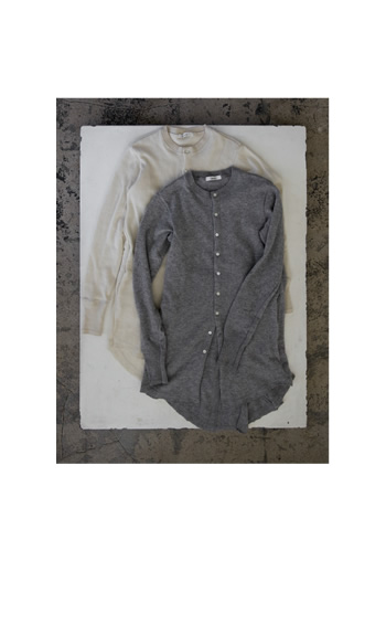 tail cardigan / Cashmere / black, gray, off white / 65,000 yen