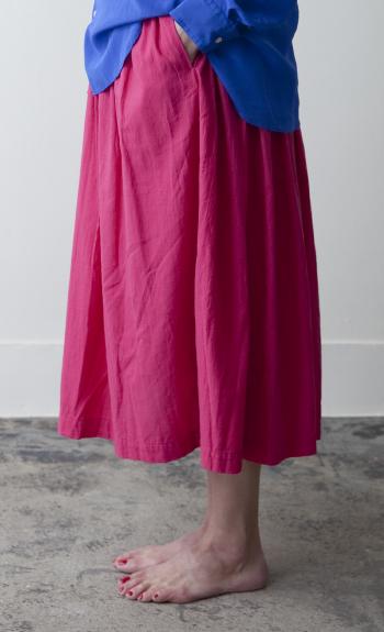 gum skirt / Cotton / ¥28,000 +tax  Cotton/ Linen / beige / ¥28,000 +tax