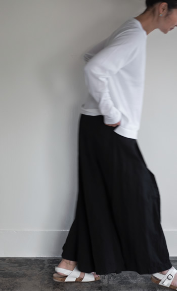 cotton pullover / culotte